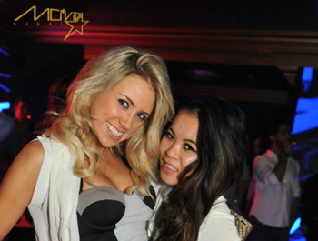 Guests at Movida