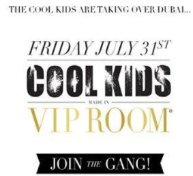 COOL KIDS MADE IN VIP ROOM