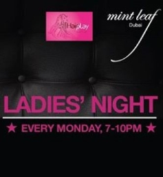 Ladies' Night by The Lounge at Mint Leaf with DJ Vinn