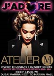 J'Adore at Atelier M!
