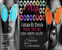 Vintage By Mo*Vida and Linda Farrow Vintage Style Sunglasses Design Collaboration - Friday, December13th