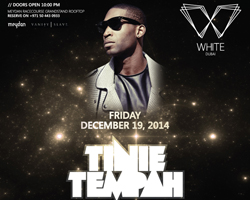 WHITE Dubai celebrates first anniversary by hosting Tinie Tempah