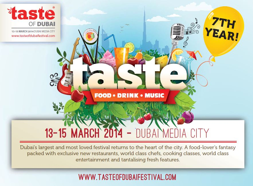 Taste the Difference at Taste of Dubai this Year