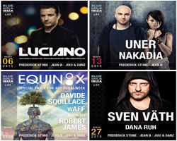 BLUE MARLIN IBIZA UAE ANNOUNCES MARCH 2015 LINE-UP