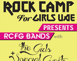 ME First Rock Camp for Girls Performs Tomorrow Night at Jazz@PizzaExpress