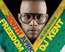 DJ Kent at SA Freedom Day Celebration at HOUSEofAFRIKA, Fri 24th April