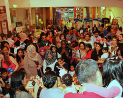 Mom Souq Celebrates Second Birthday at Kidz Venture
