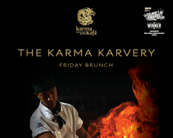Karma Karvery – Friday Brunch at Karma Kafe