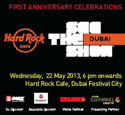 HARD ROCK CAFE DUBAI AT FESTIVAL CITY ROCKS ITS WAY TO 1st ANNIVERSARY