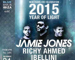 "Blue Marlin Ibiza UAE welcomes you in 2015 ""THE YEAR OF LIGHT"""