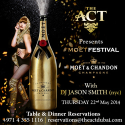 """Moet Festival"" The Act Dubai"