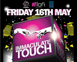 Immaculate Touch presents the Glow-3D pool party