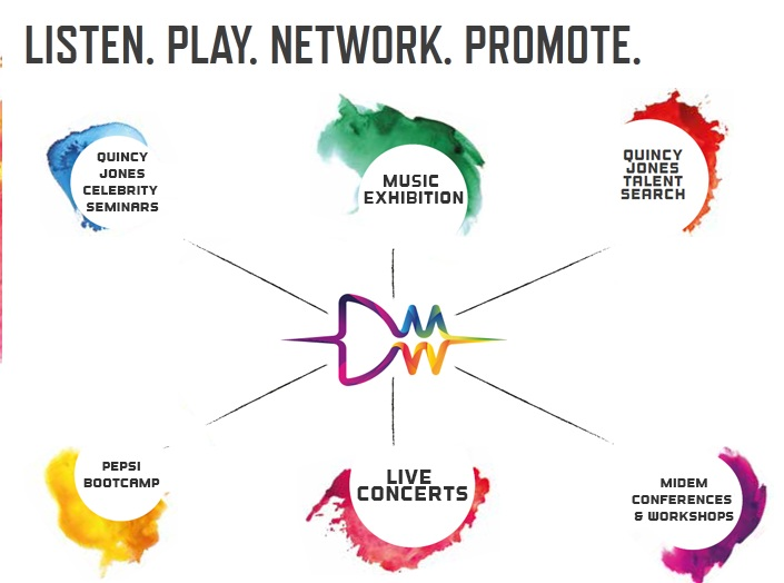 Listen. Play. Network. Promote. It's All Happening at Dubai Music Week.
