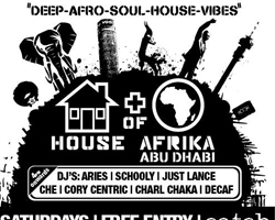 HOUSEofAFRIKA ABU DHABI every Saturday at Catch