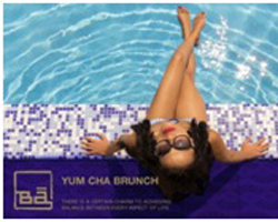 A Hot Brunch &  A Cool Swim at Bā Restaurant & Lounge