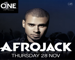 O1NE Yas Island welcomes Afrojack this Thursday