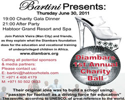 BARTINI'S FIRST ANNUAL CHARITY BALL