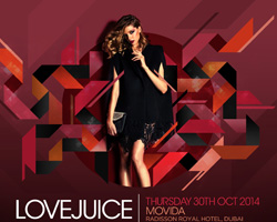 LoveJuice at Movida Dubai