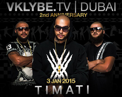 Big celebration of Vklybe.Tv 2nd Anniversary featuring by Live performance of TIMATI !!