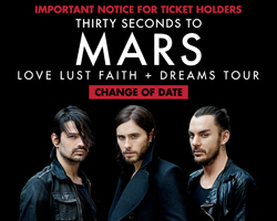 Thirty Seconds to Mars Reschedules Dubai Show