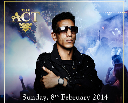SUNDAY at THE ACT DUBAI with RICHIE REACH