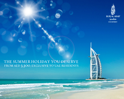 Live your summer dream at Burj Al arab - exclusive to UAE residents