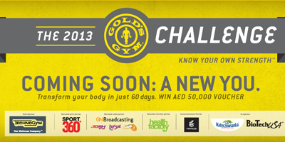 Health Factory participates in Gold's Gym's Fat to Fit Challenge as its official nutrition partner.