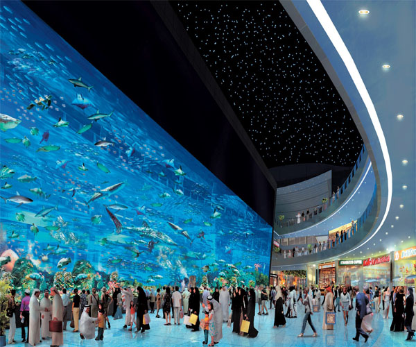The Dubai Aquarium