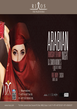 Arabian Night at White X Beach & Lounge
