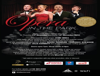 Win 2 tickets to Wafi's Opera In The Park!