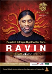 Karma Kafe presents DJ Ravin