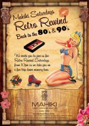 Retro Rewind 80's & 90's Night