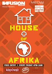 House of Afrika Ft. Coco Loco @ The Dek on 8
