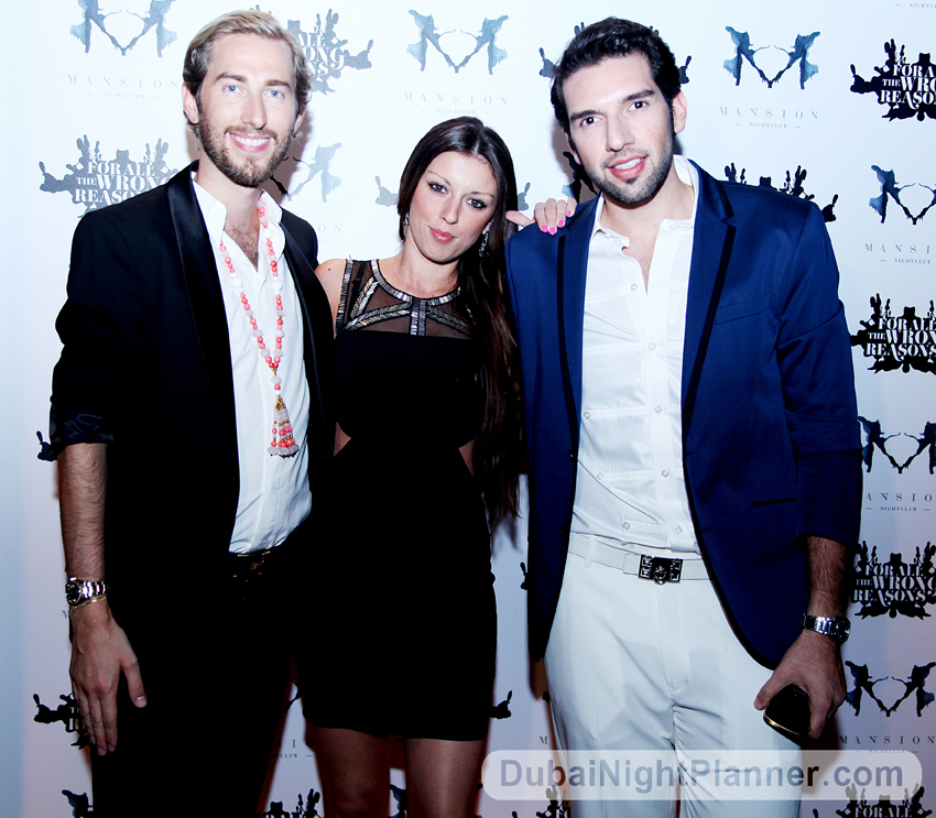 Opening of Mansion Nightclub